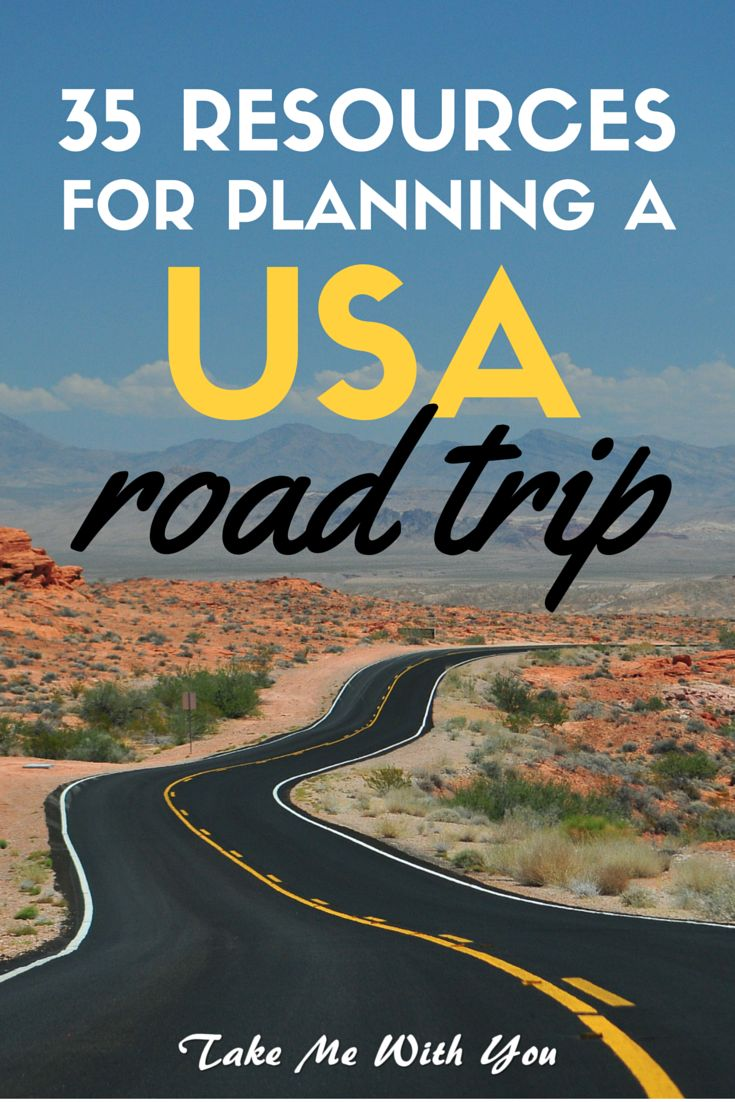 35 Resources for planning a USA road