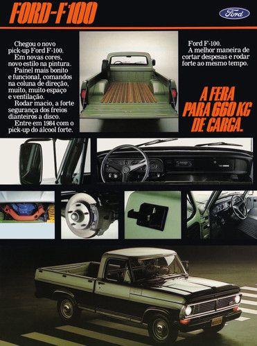 1984 Ford F-100 truck - Brasil