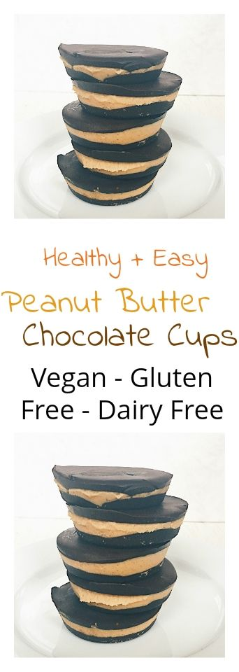 Healthy Easy Peanut Butter Cups