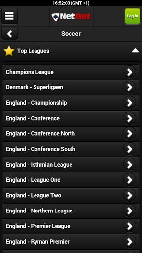 Whichever sport you're most passionate about whether it's football, tennis, cricket, rugby, golfthere's something for everyone at NetBet. You're bound to find something you love in our app!<br><br>Use the Netbet app before you place abet to consult the odds, which represent the probability of a sporting result and estimate how much you could make. <p>Netbet is fast becoming one of the most popular sites on the UK market.<p>You can change language via Settings to play in your local…