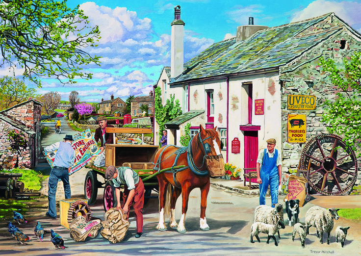 Rag & Bone 1 Puzzle #jigsaw #puzzle #Christmas #gifts #xmas #grandparents #children #hobby #fun #family #gibsons #set
