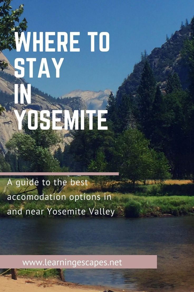 #yosemitenationalpark #yosemite #california #besthotelsinyosemite #wheretostayinyosemite #nationalparks #usa  #usatravel A comprehensive guide to where to stay in Yosemite. Yosemite lodging options for the whole family including hotels in Yosemite, Yosemite cabins and campsites to suit all budgets and accommodation requirements