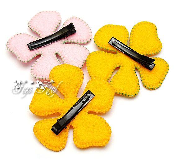 Felt Flower Hairclip