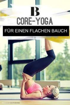 Core-Yoga für einen flachen Bauch