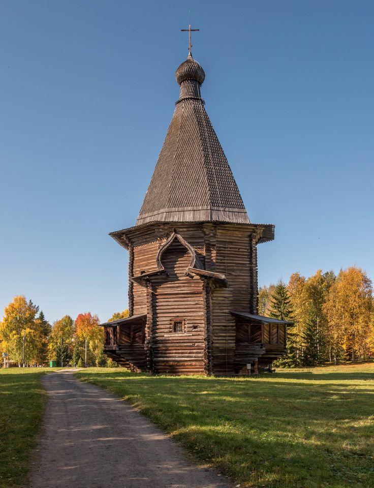 Wooden church by Alexander Polomodov on 500px