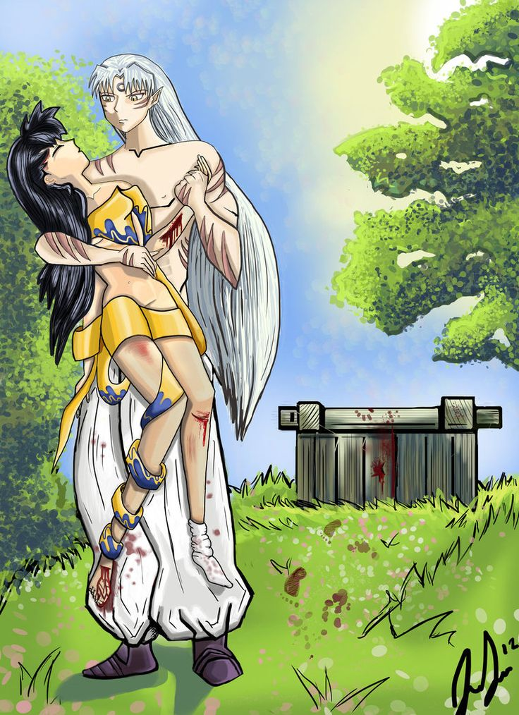 Fiction kagome sesshoumaru fan