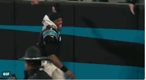 Panthers respond to Goose Gossage by proudly tweeting a Cam Newton GIF