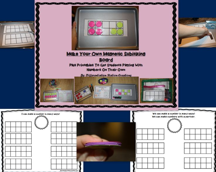 289 Best Math-10 Frame&Dice Games Images On Pinterest | 10 Frame
