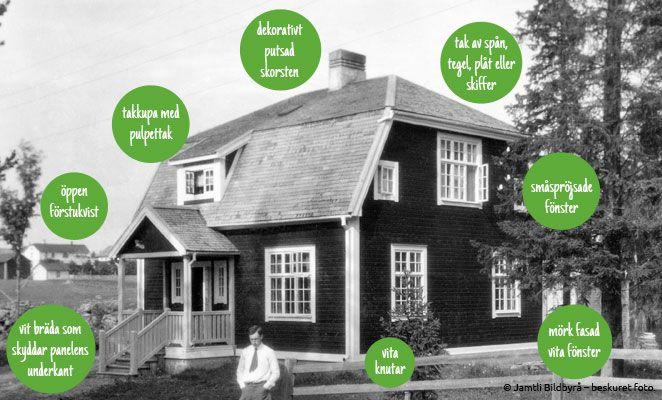 Varsamt - Hustrender på 1910-talet
