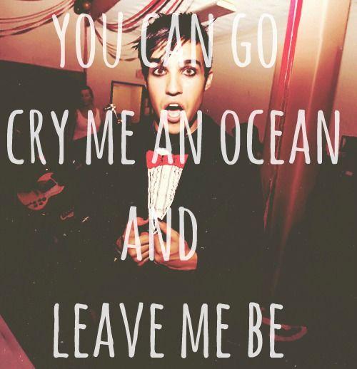 dem lyrics - fall out boy