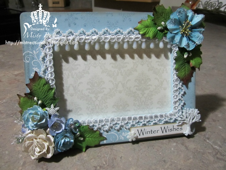 Winter Wishes Frame - By Misty Busby