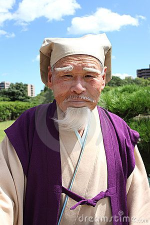 Japanese old man by Akiyoko74, via Dreamstime