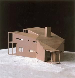 Model. Y HOUSE. 1999. Catskills, New York, United States. Steven Holl