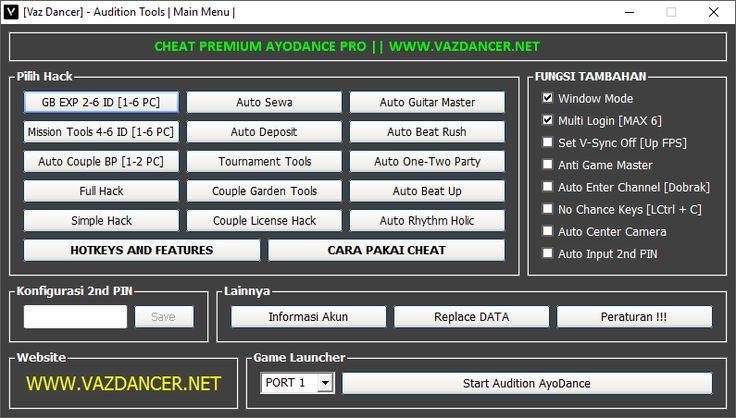 Cheat Ayodance Premium VIP Greget V6151 Bypass Xigncode