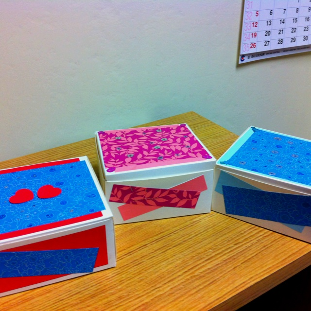 Little boxesLittle Boxes, My Creations