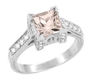 OHHHH MY!  I love this ring!!!!!  Pink morganite *drool*