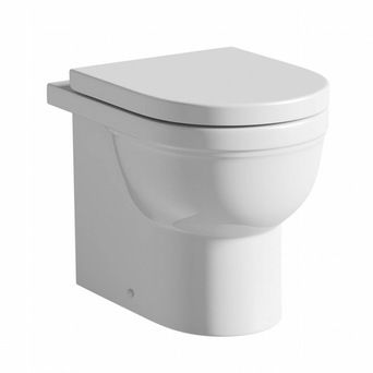 Deco back to wall toilet with soft close toilet seat £89