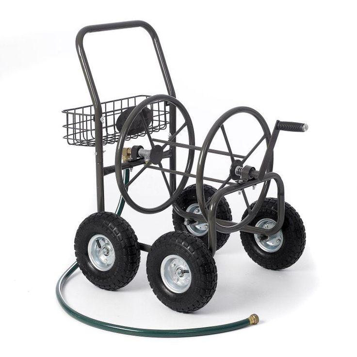 Liberty Garden 4-Wheel Hose Reel Cart - 871-M1-1