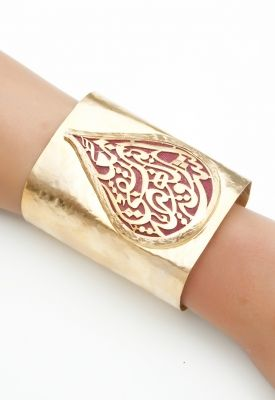 Cuff  with Arabic Calligraphy