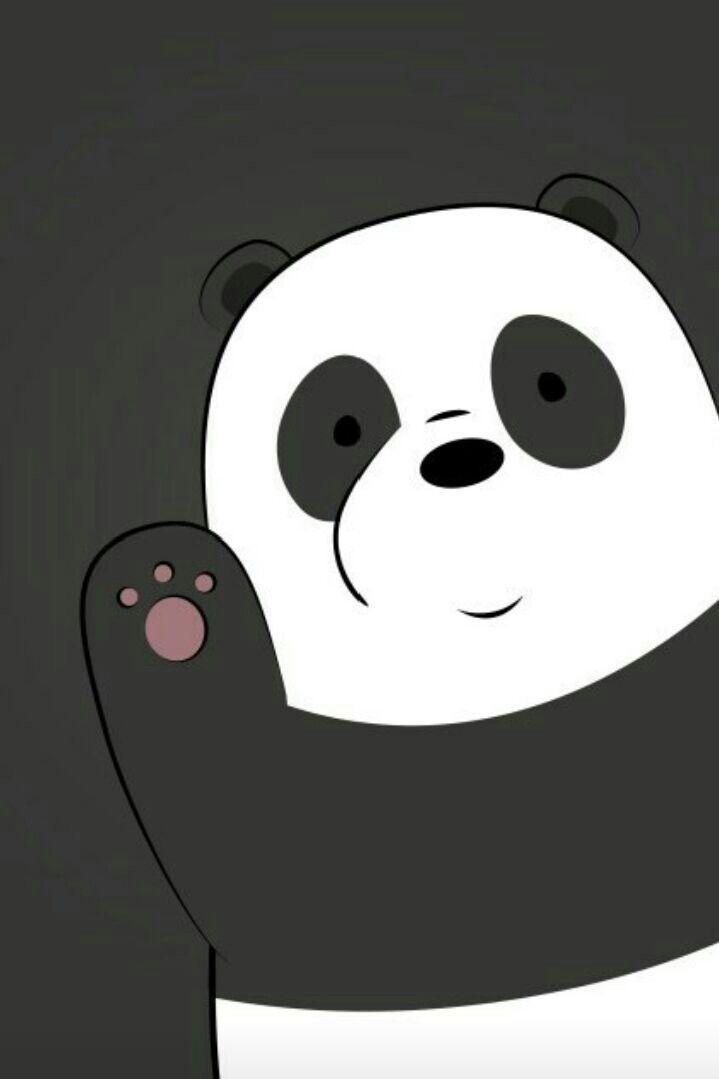 Pin By Ingrid Menendez On Fondos De Pantalla Cartoon Wallpaper Cute Panda Wallpaper Purple Wallpaper Iphone
