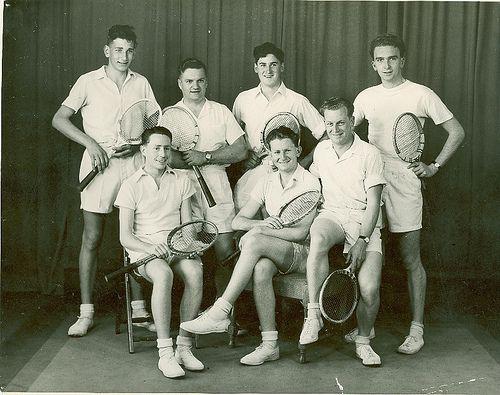 Tennis Team 1950 - vintage. Geelong, Australia
