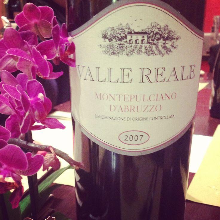 Valle Reale Montepulciano d'Abruzzo #wine