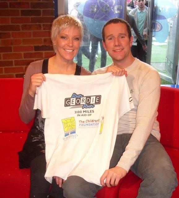 Helen Chamberlain and Max Rushden (Soccer AM)