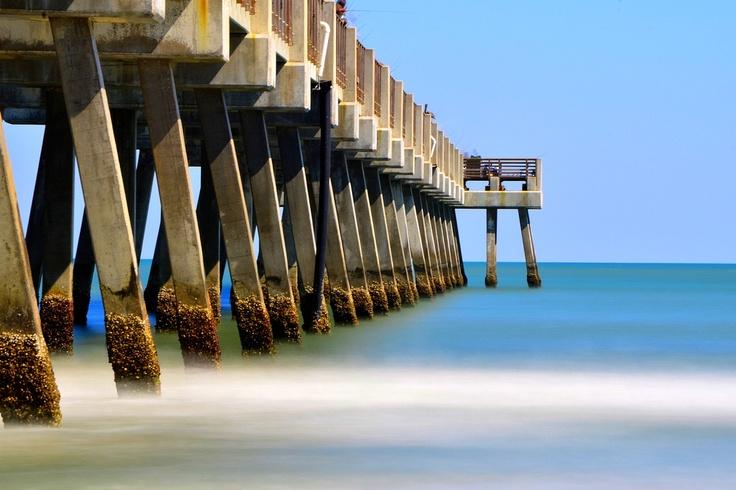 Jacksonville Beach Pier... Long Exposure.