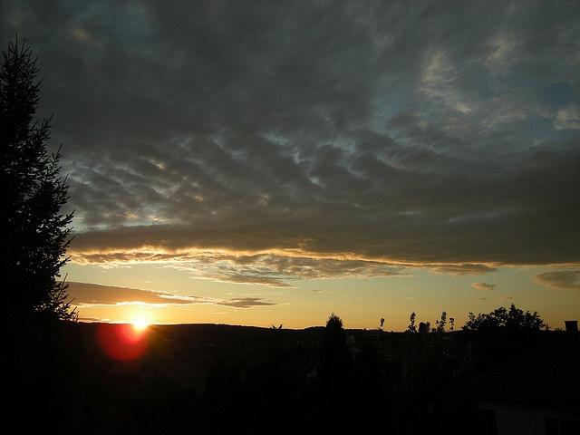 Sunset at Balatonfűzfő .     Kedvenc helyeim szintén: