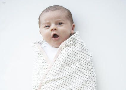 Some rest and relaxation for your baby -- and you -- is just a burrito wrap away