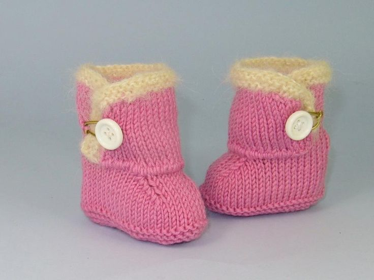 Mejores 104 imágenes de Madmonkeyknits Baby Shoes and Booties ...