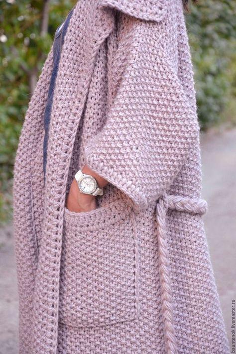 Кофты и свитера ручной работы. Вязаный кардиган