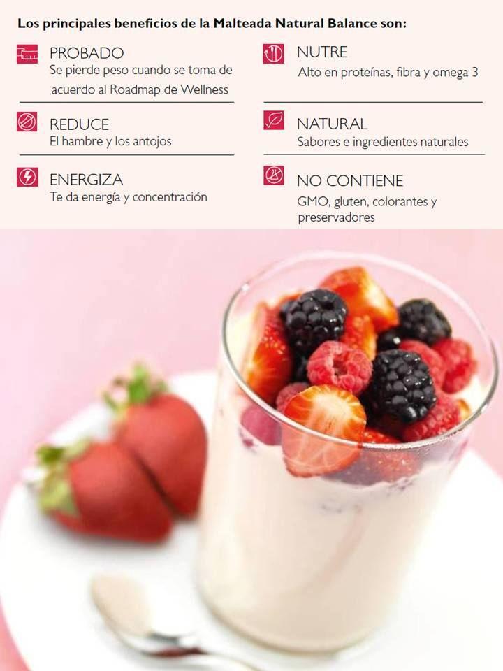 La Malteada Natural Balance no contiene: GLUTEN, GMO, COLORANTES Y PRESERVADORES!