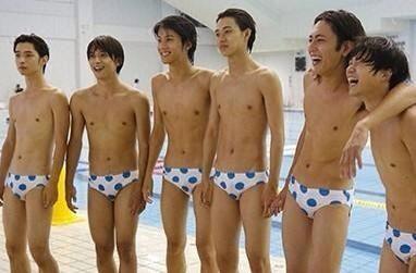 Kento Yamazaki, Yuto Nakajima, Shotaro Mamiya, Yudai Chiba, Ryo Yoshizawa, Taishi Nakagawa, Yuya Takaki in Suikyu Yankees (Water Polo Yankees)