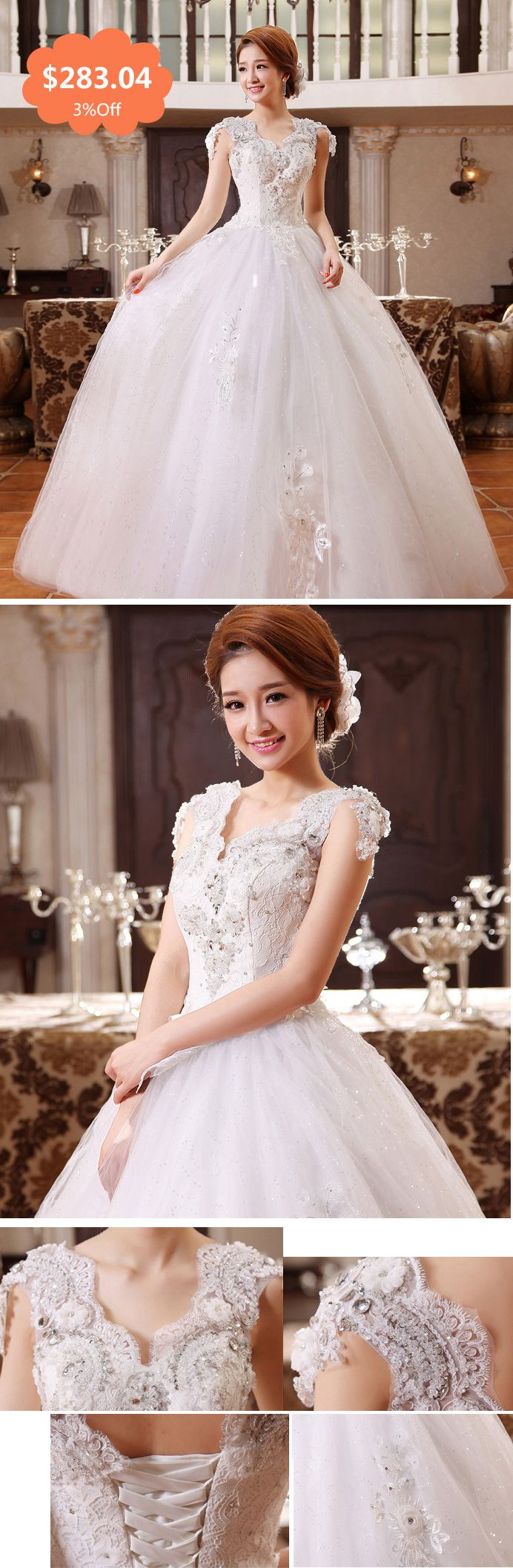 2014 Korean wedding dresses one shoulder strap bridal white winter custom