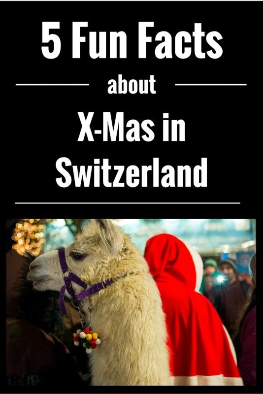 5 Fun Facts about #Christmas in #Switzerland