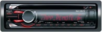 Radioodtwarzacz samochodowy CD/mp3 z przednim portem USB i regulacją koloru wyświetlacza i przycisków.