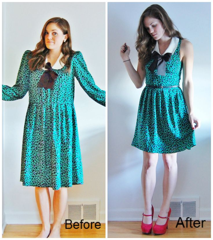 Good Gravy: DIY New Life for Old Threads- Upcycled Thrifted Find. Great ideas for re-vamping old clothes