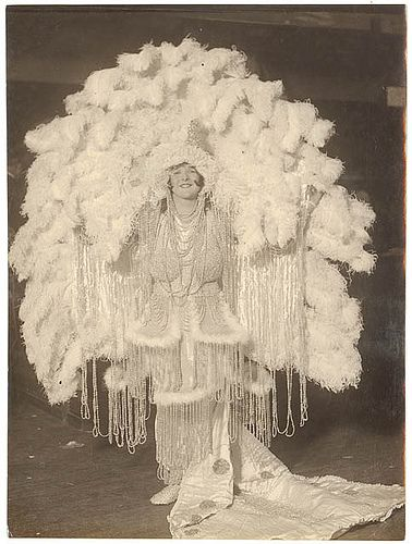 Ziegfeld costume, Sydney, between 1915-1930 / by Sam Hood by State Library of New South Wales collection, via Flickr