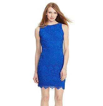 Lauren Ralph Luaren® Lace Sleeveless Day Dress