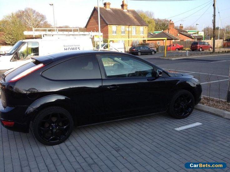 Ford Focus Titanium 1.8 Petrol Black Security windows #ford #focus #forsale #unitedkingdom