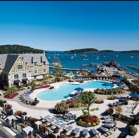 Harborside Hotel, Bar Harbor, Maine