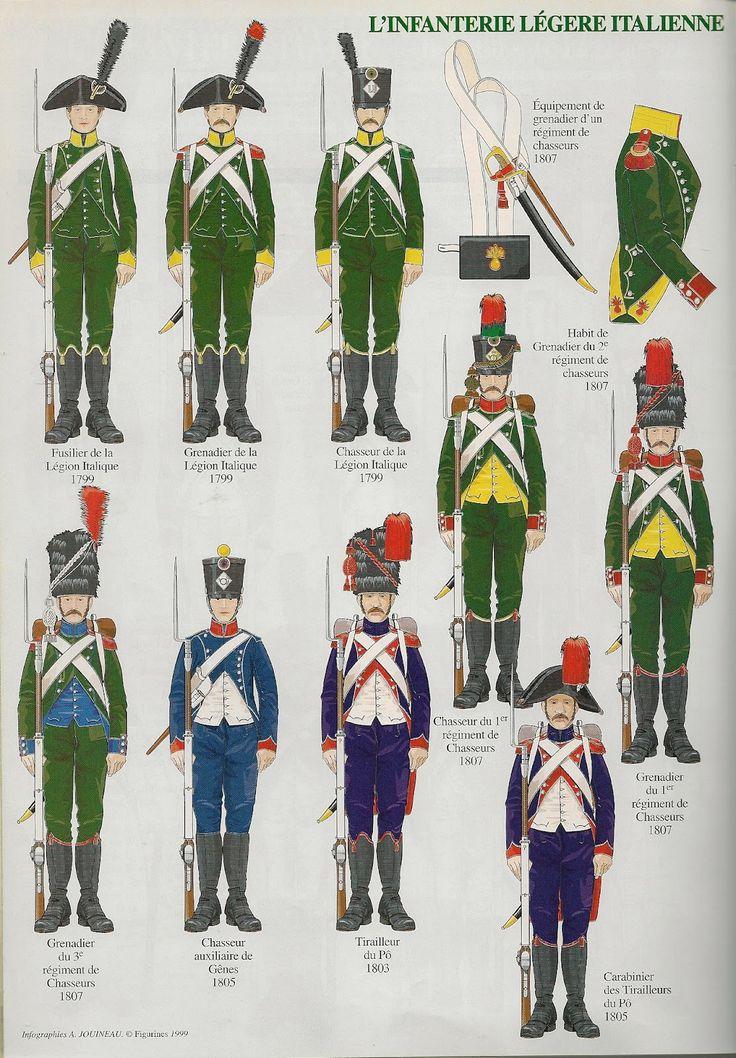 Fanteria leggera 1799-1807