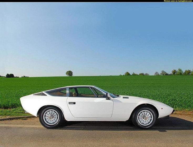 Maserati Khamsin, by Bertone 1974.