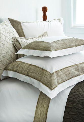 Cassia Linen Trimmed Sheets Traditions Linens Classics