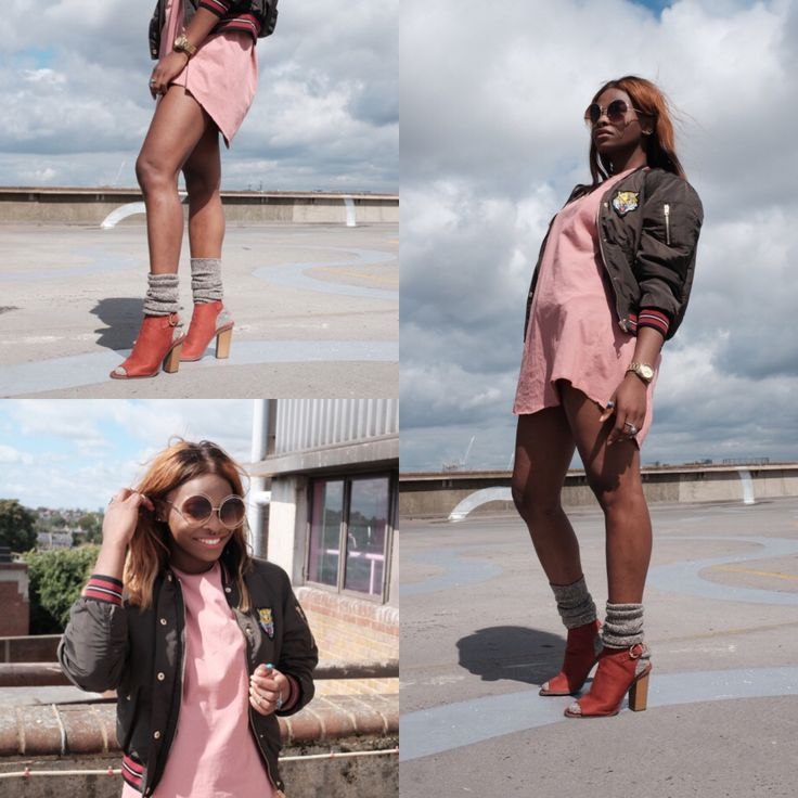 Peach + Khaki Outfit idea  #peachy #female #blogger #london