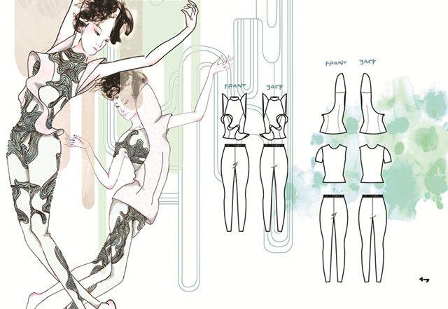 3rd Year Student Work.Interested in Fashion Design? Check IFA Paris' Signature Program in Fashion design @ http://www.ifaparis.com/courses/undergraduate/bachelor-fashion-design-technology