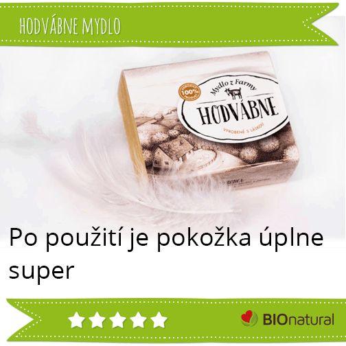 Hodnotenie hodvábneho mydla značky Mydlá z farmy http://www.bionatural.sk/p/hodvabne-mydlo-95g?utm_campaign=hodnotenie&utm_medium=pin&utm_source=pinterest&utm_content=&utm_term=hodvabne_mydlo