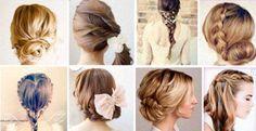Brautfrisuren lange Haare selber machen: Geflochten oder halb hochgesteckt - die Anleitung mit Bildern