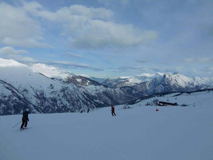 Beautiful view @Valloire Galibier